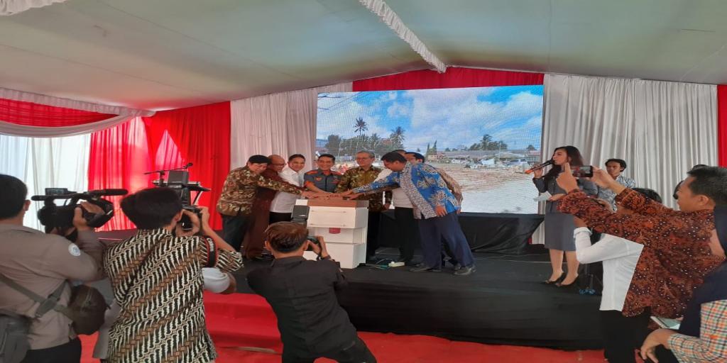 Pembangunan Pasar Ikan Modern (PIM) Kota Palembang